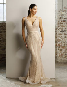 Jadore kjole med perler